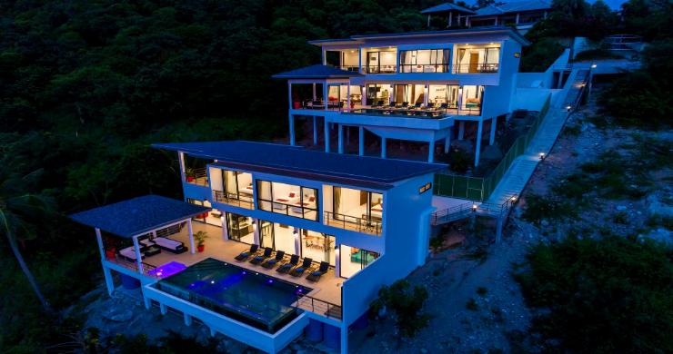 Contemporary 4 Bed Sea-view Pool Villa in Maenam-22