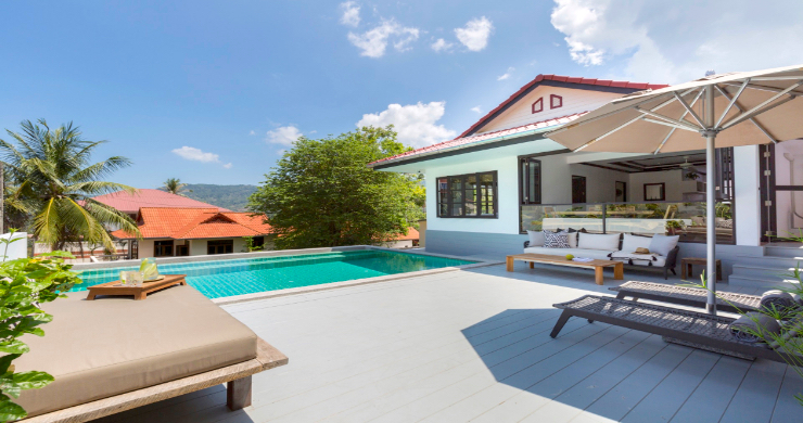 Charming 2 Bedroom Modern Pool Villa in Bophut-4