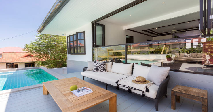Charming 2 Bedroom Modern Pool Villa in Bophut-3