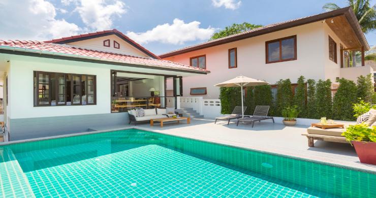 Charming 2 Bedroom Modern Pool Villa in Bophut-1