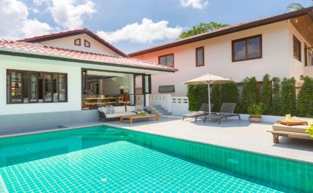 Charming 2 Bedroom Modern Pool Villa in Bophut