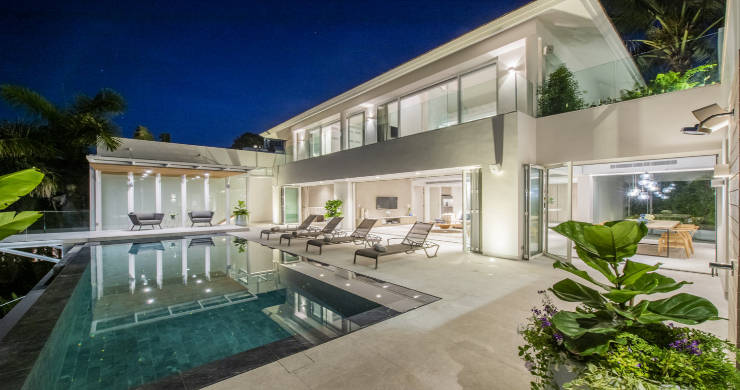 Contemporary 4 Bed Luxury Sea View Villa in Phuket-21