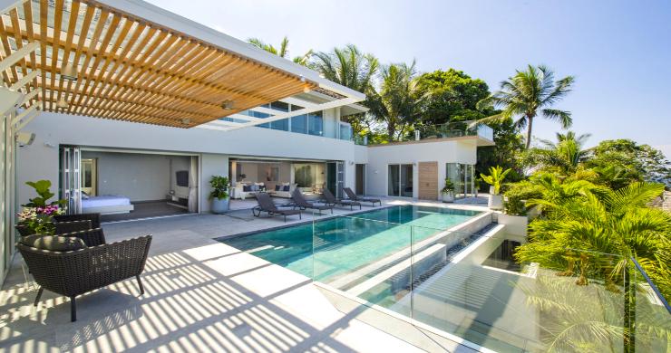 Contemporary 4 Bed Luxury Sea View Villa in Phuket-2