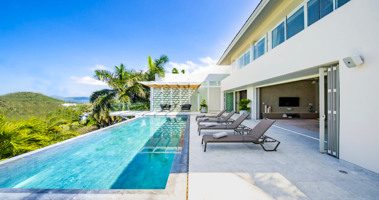 Contemporary 4 Bed Luxury Sea View Villa in Phuket-12