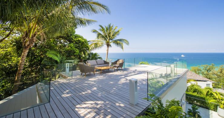Contemporary 4 Bed Luxury Sea View Villa in Phuket-13