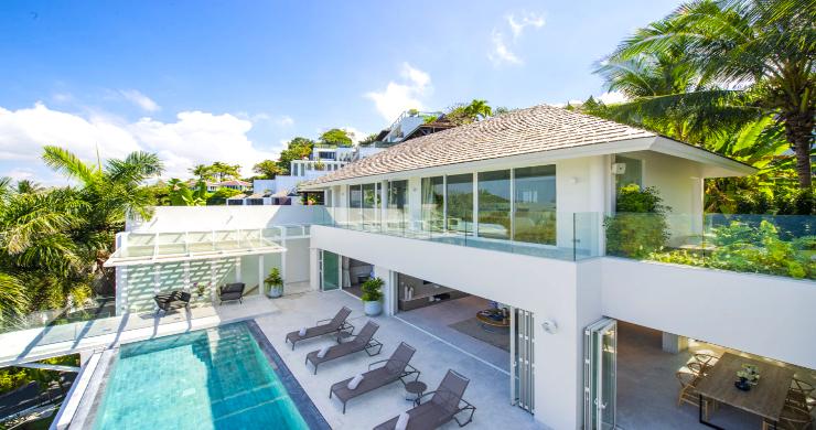 Contemporary 4 Bed Luxury Sea View Villa in Phuket-3