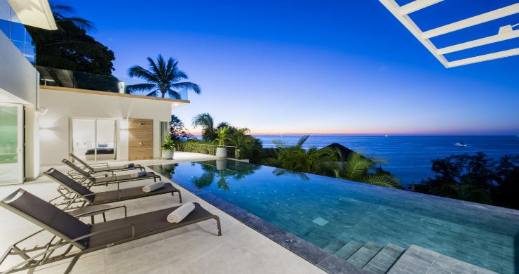 Contemporary 4 Bed Luxury Sea View Villa in Phuket-20
