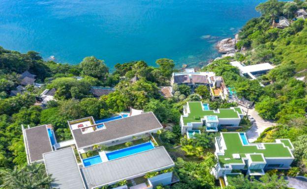 Oceanfront 4 Bed Luxury Villa Residence in Phuket