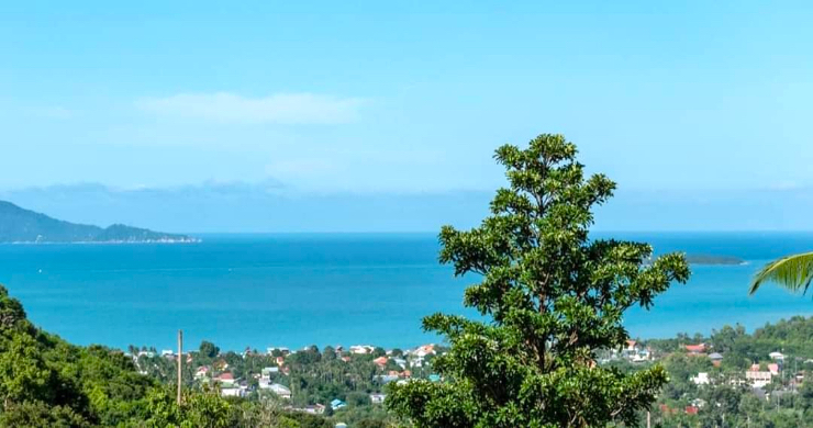 Affordable Sea-view Land Plots for Sale in Bophut Hills-2
