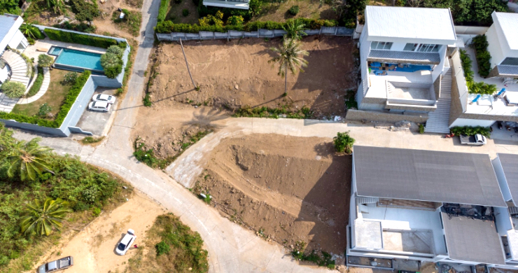 Affordable Sea-view Land Plots for Sale in Bophut Hills-4