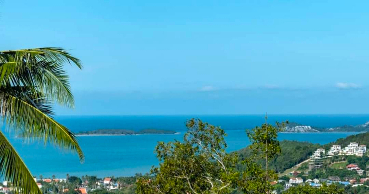 Affordable Sea-view Land Plots for Sale in Bophut Hills-3