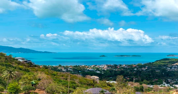 Affordable Sea-view Land Plots for Sale in Bophut Hills-1