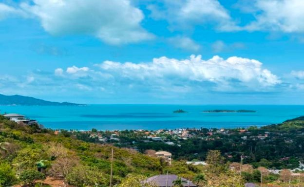 Affordable Sea-view Land Plots for Sale in Bophut Hills