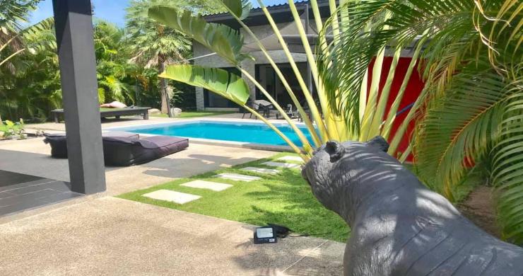 Tropical 3 Bedroom Pool Villa for Sale in Maenam-9