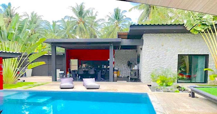 Tropical 3 Bedroom Pool Villa for Sale in Maenam-1