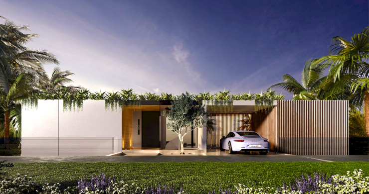 Contemporary 3 Bed Luxury Sea View Villa in Phuket-11
