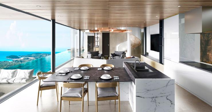 Contemporary 3 Bed Luxury Sea View Villa in Phuket-3