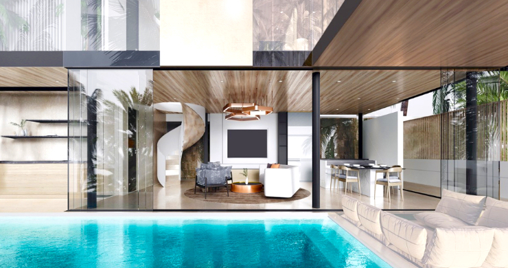 Contemporary 3 Bed Luxury Sea View Villa in Phuket-6