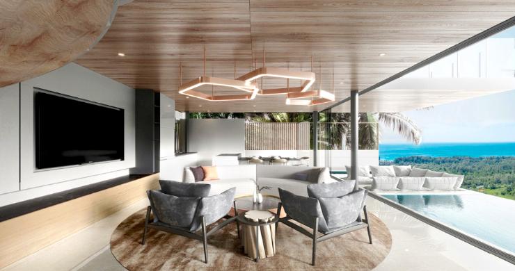 Contemporary 3 Bed Luxury Sea View Villa in Phuket-4