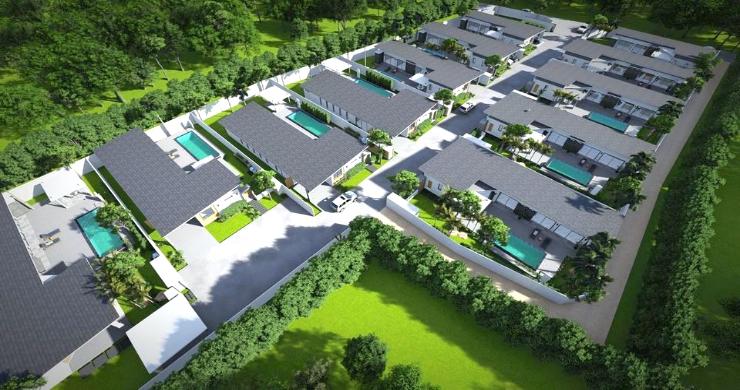 New Modern 2-4 Bed Private Pool Villas in Maenam-14