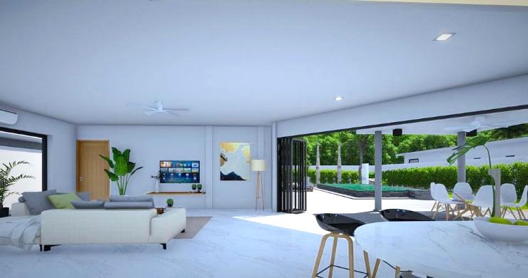 New Modern 2-4 Bed Private Pool Villas in Maenam-8