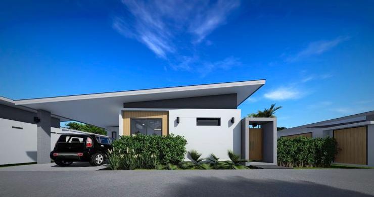 New Modern 2-4 Bed Private Pool Villas in Maenam-11