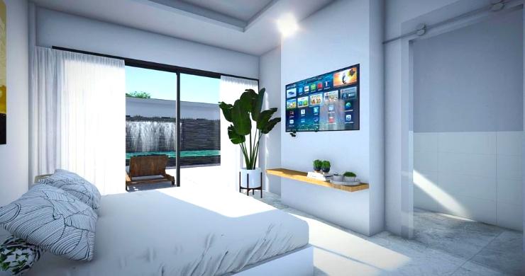 New Modern 2-4 Bed Private Pool Villas in Maenam-5