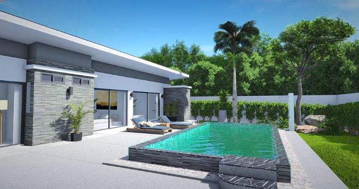 New Modern 2-4 Bed Private Pool Villas in Maenam-2
