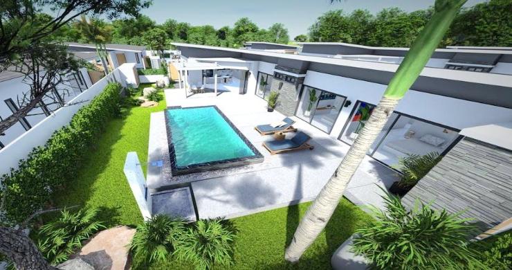 New Modern 2-4 Bed Private Pool Villas in Maenam-6