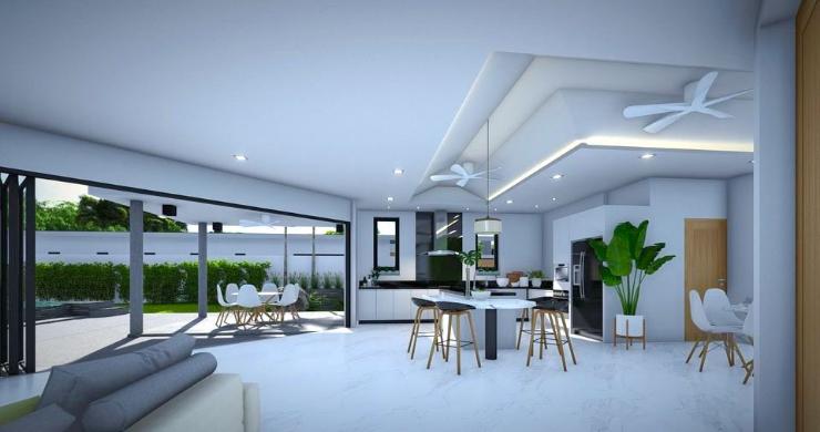 New Modern 2-4 Bed Private Pool Villas in Maenam-4