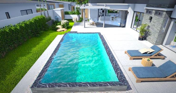 New Modern 2-4 Bed Private Pool Villas in Maenam-7
