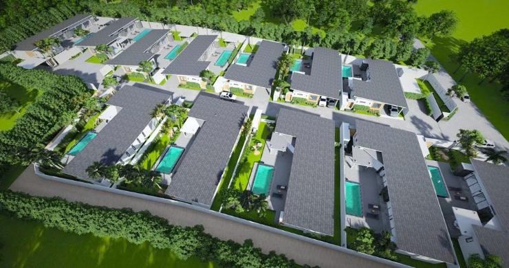 New Modern 2-4 Bed Private Pool Villas in Maenam-12