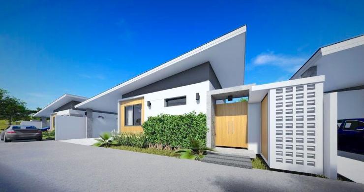 New Modern 2-4 Bed Private Pool Villas in Maenam-10