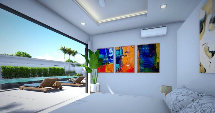 New Modern 2-4 Bed Private Pool Villas in Maenam-9