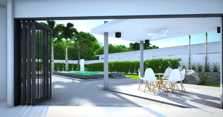New Modern 2-4 Bed Private Pool Villas in Maenam-3