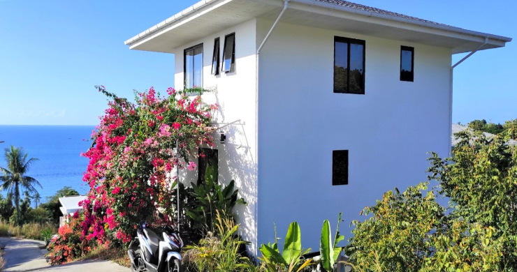 New Modern 3 Bed Sea View Villa in Koh Phangan-23