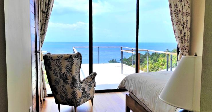 New Modern 3 Bed Sea View Villa in Koh Phangan-16