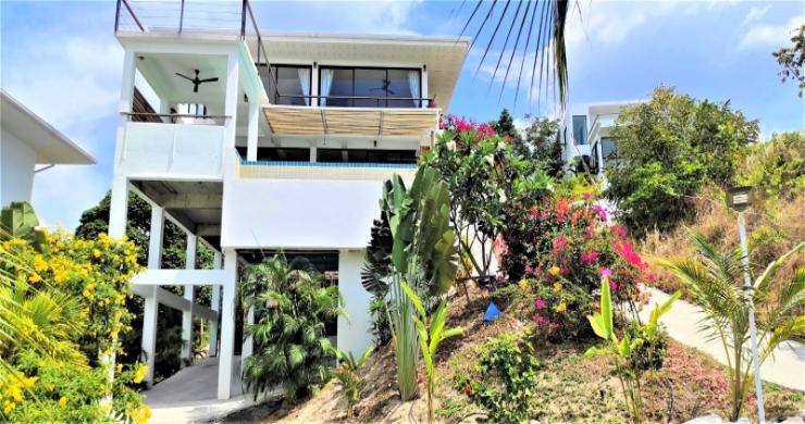 New Modern 3 Bed Sea View Villa in Koh Phangan-22