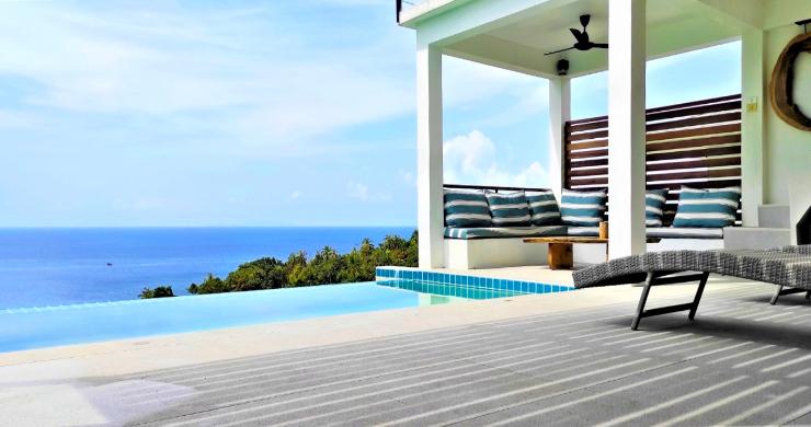 New Modern 3 Bed Sea View Villa in Koh Phangan-2
