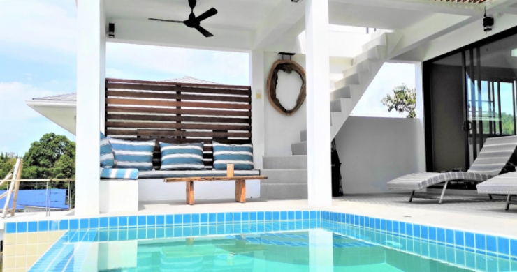 New Modern 3 Bed Sea View Villa in Koh Phangan-3