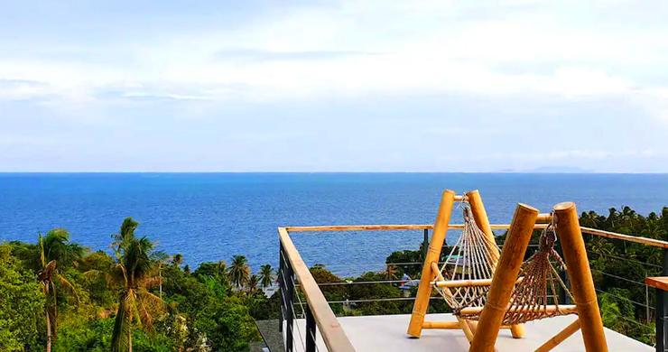 New Modern 3 Bed Sea View Villa in Koh Phangan-11