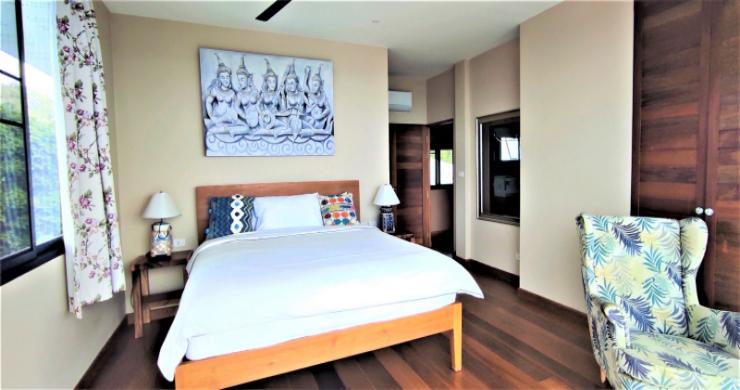 New Modern 3 Bed Sea View Villa in Koh Phangan-9