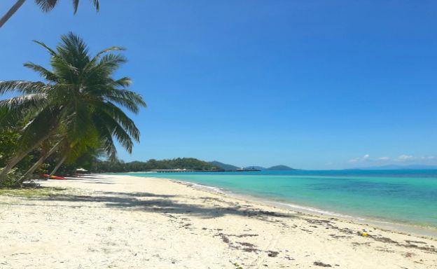 Koh Samui Beachfront Land for Sale in Lipa Noi