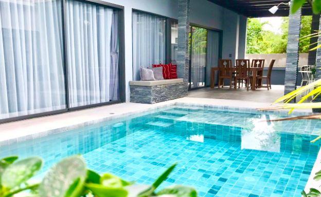 Modern 2 Bed Pool Villa Close to Maenam Beach