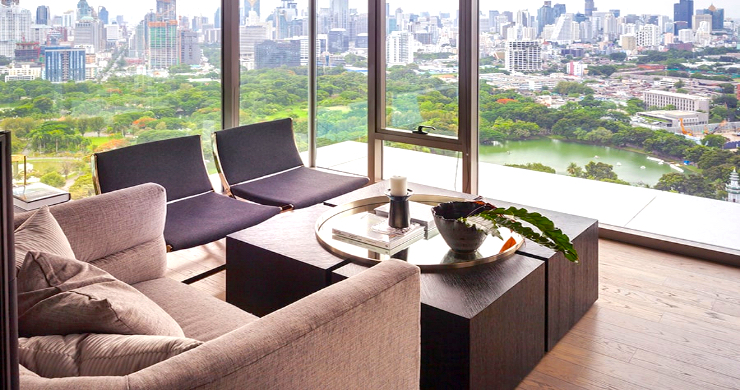 Luxury 3 Bed Penthouse with City Views in Bangkok-6