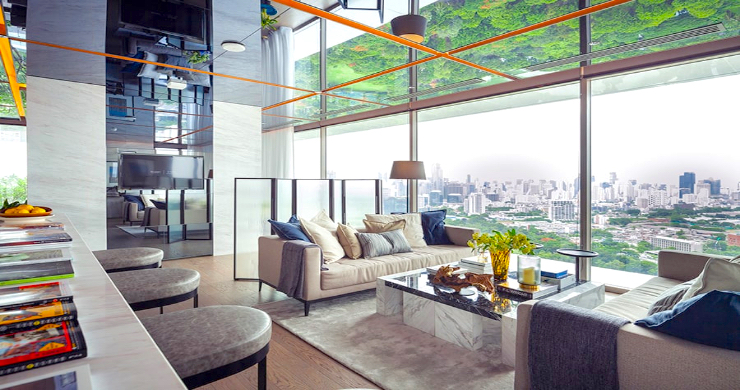 Luxury 3 Bed Penthouse with City Views in Bangkok-1