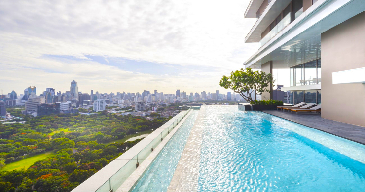 Luxury 3 Bed Penthouse with City Views in Bangkok-3