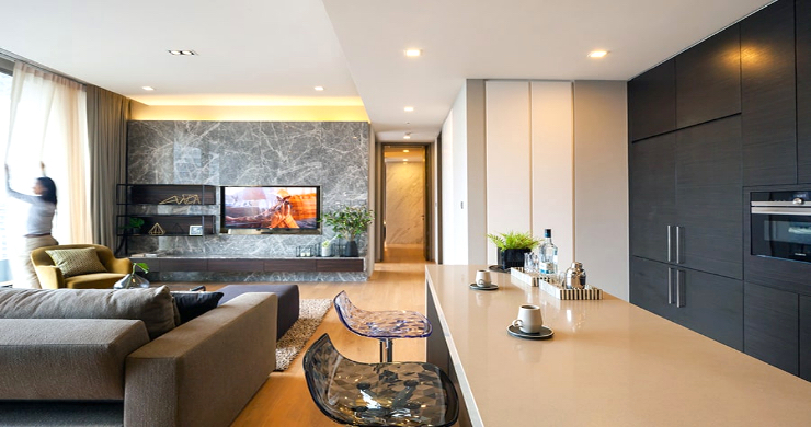 Luxury 3 Bed Penthouse with City Views in Bangkok-7
