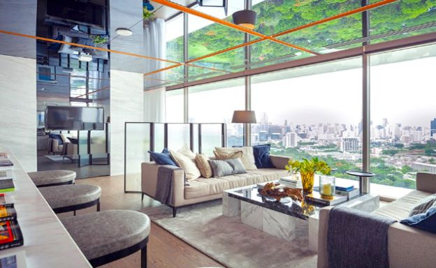 Luxury 3 Bed Penthouse with City Views in Bangkok