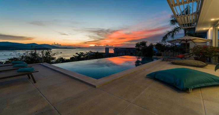 Stylish Sunset Sea-view 4 Bedroom on Bangrak Bay-15